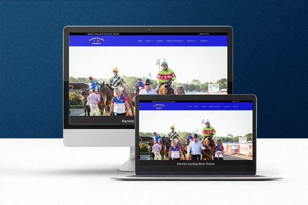 clarke-racing-darwin-website design darwin