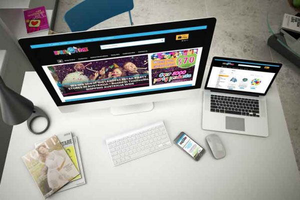 partytime-website-design-townsville